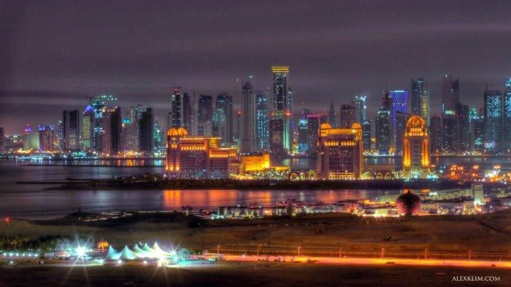 Doha City lights (HDR)