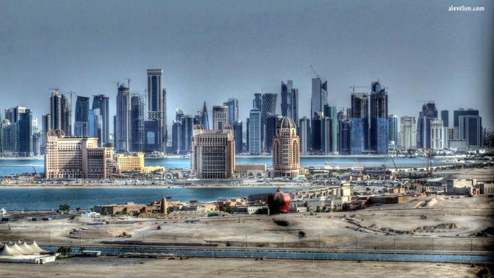 Doha Skyline Day HDR