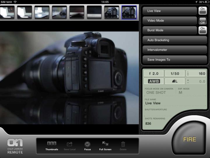iPad-DSLR-remote
