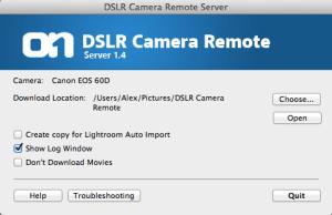 DSLR Camera Remote Server 1.4