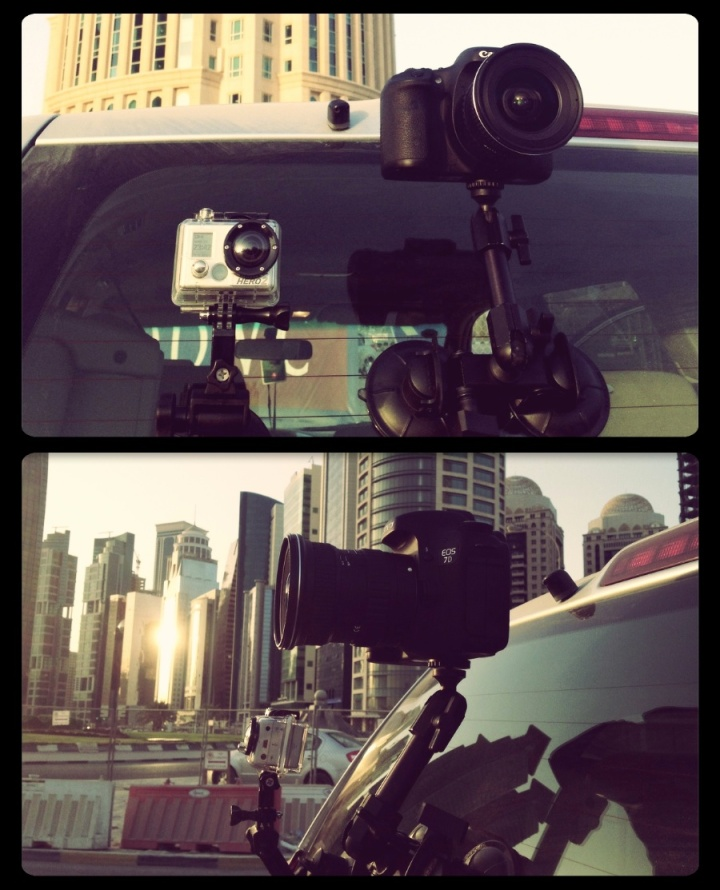 Driving shots: GoPro Hero2 vs Canon 7D