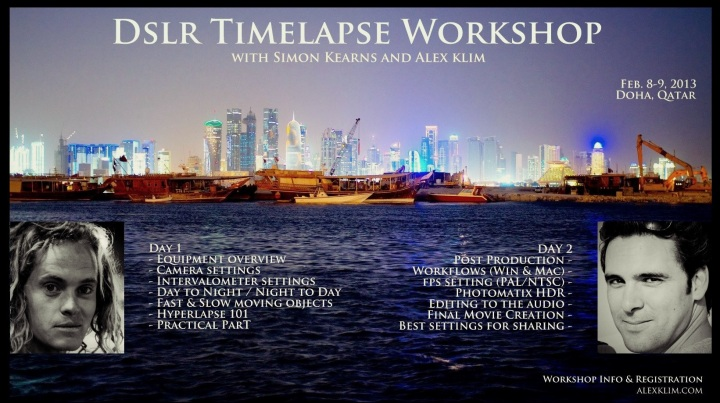 DSLR Timelapse Workshop - Doha, Qatar