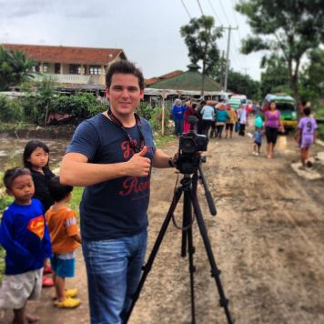 Shooting in Bandung, Indonesia