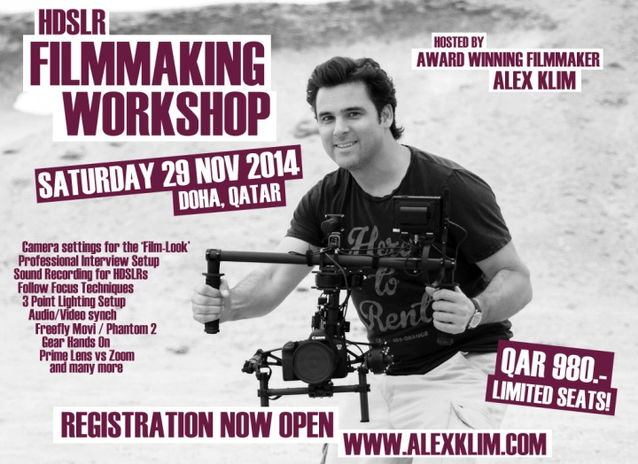 FILMMAKING WORKSHOP DOHA 2014